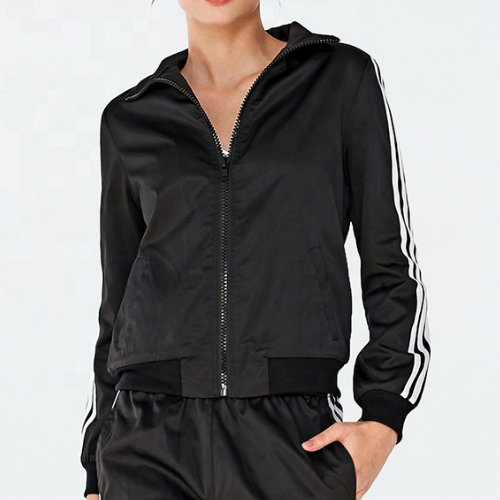 Classic Black Running Jacket Manufacturer