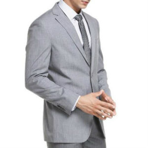Classic Grey Suit Jacket Manufacturer