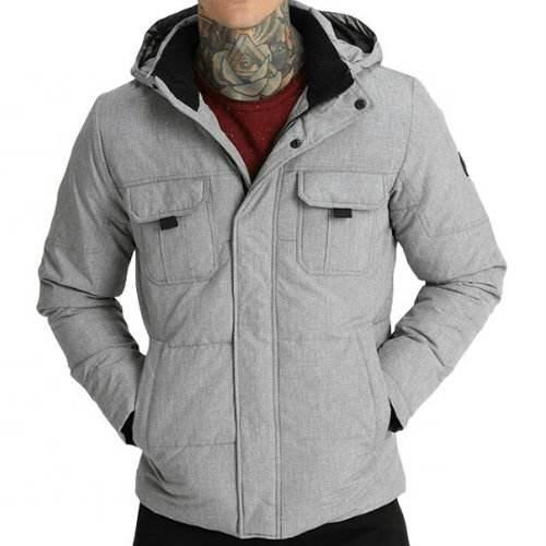 WholesaleClassy Gray Down Jacket