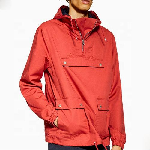 Red Hooded Jackets Manufacturer