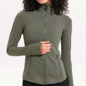 Dark Green Fitness Jackets Manufacturer