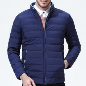 Deep Blue Sports Jacket Manufacturer