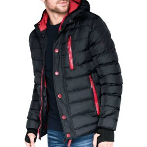 Enticing Black Quilted Jackets