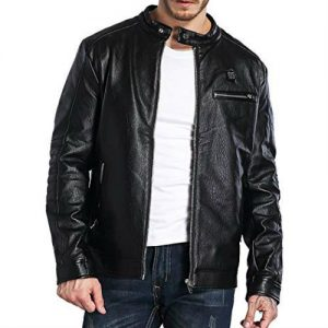 Wholesale Enticing Black Leather Jacket Manufacturer