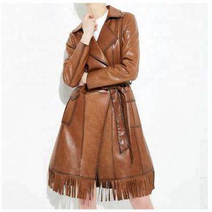 WholesaleEye Catching Leather Jacket