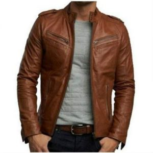 Brown Leather Jacket Manufacturer