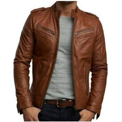 Brown Leather Jacket Manufacturer