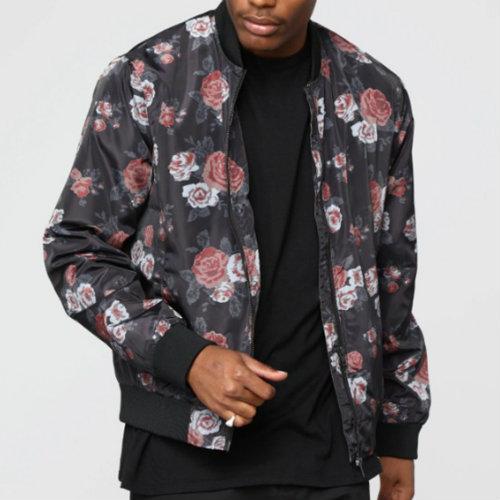 Floral Printed Sublimation Jacket Manufacturer