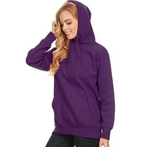 Fluffy Purple Hooded Jacket Manufacturer