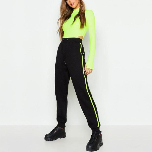 Wholesale Green and Black Color Tracksuit
