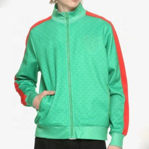 Wholesale Lime Green Allover Print Windbreaker Manufacturer