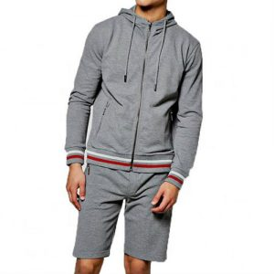 Wholesale Grey Fashion Men's Tracksuits