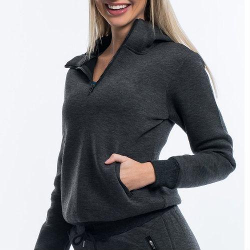 Wholesale Grey Formal Hooded Jacket Manufacturer