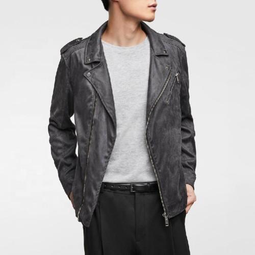 Pu Leather Jacket Manufacturer for Men