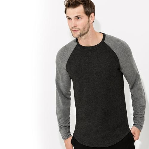Grey Long Sleeve Crewneck Jacket