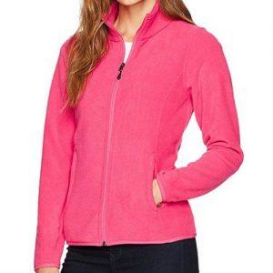Wholesale Hot Pink Style Fleece Jacket Manufacturer