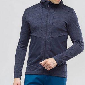 Indigo Frontzipped Track Jacket