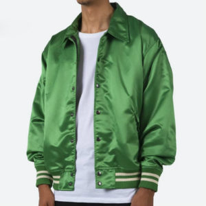 Jade Green Baseball Jacket Manufacturer