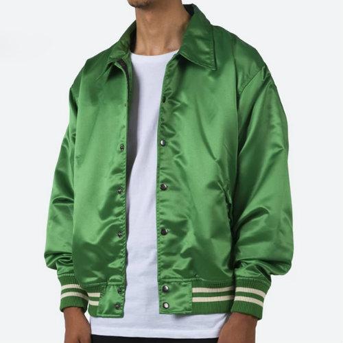 Jade Green Baseball Jacket Manufacturer