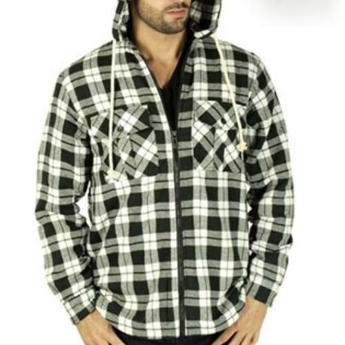 Wholesale Khaki Flannel Shirt Jacket