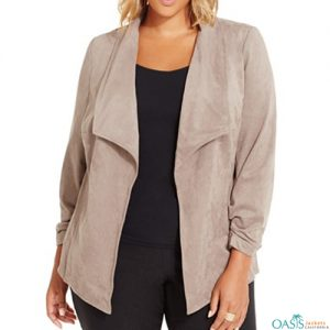 Light Grey Plus Shrug