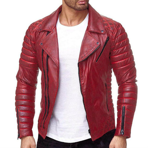 Wholesale Long Lasting Leather Jacket Manufacturer