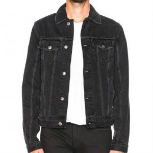 Men's Black Denim Jacket