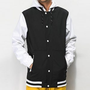 Wholesale Mens Varsity Jacket With Hood