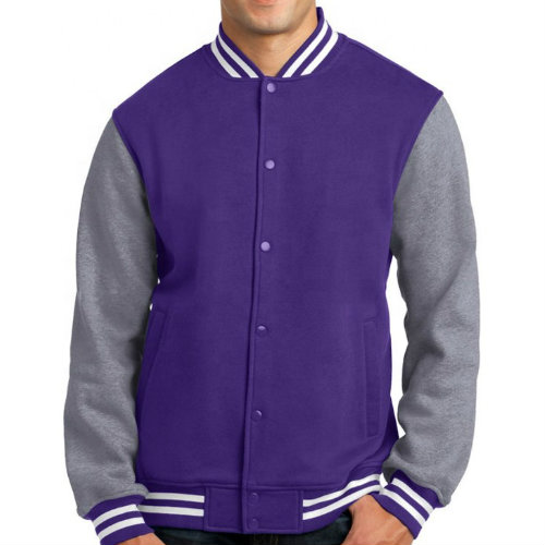 Wholesale Violet Vale Letterman Jacket