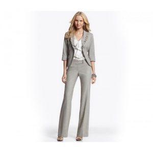 Metallic Grey Designer Suit Jacket