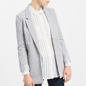 Metallic Grey Designer Suit Jacket Manufacturer