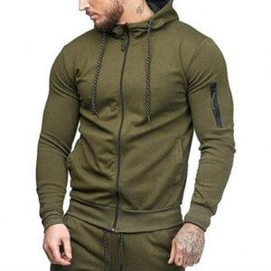 Military Green Running Jacket Manufacturer