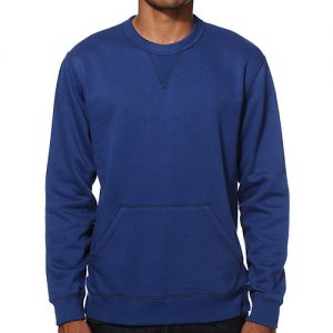 Navy Blue Crew Neck Sweatshirt