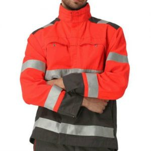 Wholesale Orange Fireman Safety Jacket Manufacturer