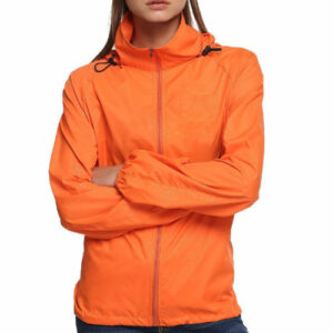 Orange Regular Rain Jacket Manufacturer