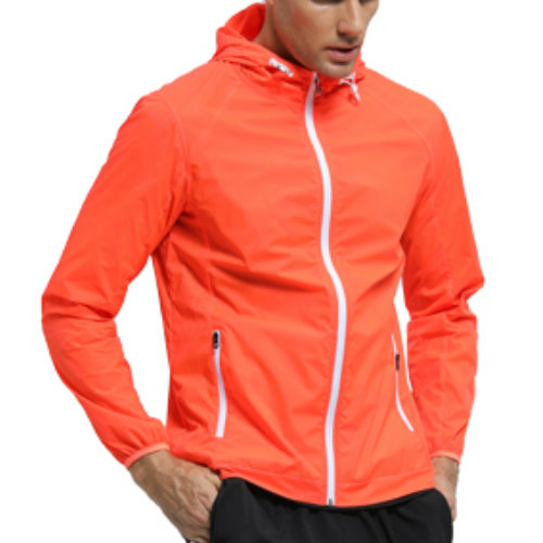 Bright Orange Sports Jackets Manufacturer