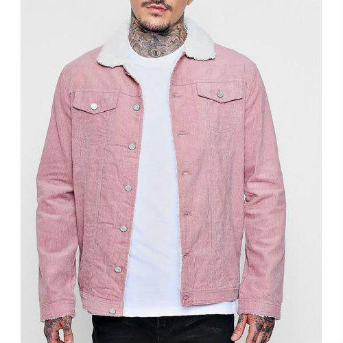 Wholesale Bloom Dale Pink Varsity Jacket