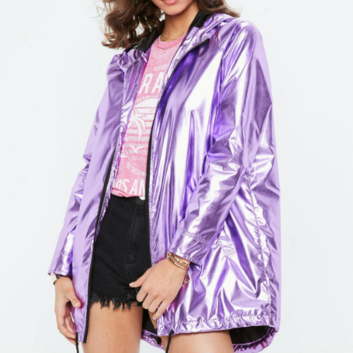 Rainbow Purple Rain Jacket Manufacturer