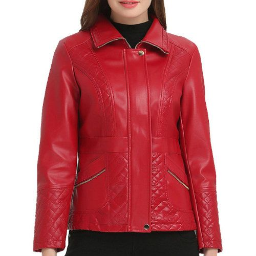 Stylishly Designed Leather Jacket Manufacturer