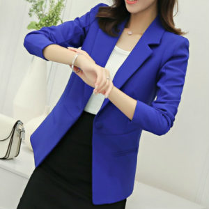 Royal Blue Ladies Suit Jacket Manufacturer