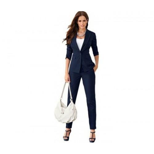 Royal Blue Ladies Suit Jacket