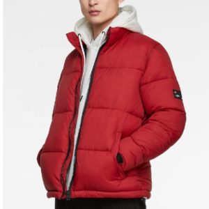 Wholesale Ruby Red Down Jacket Manufacturer