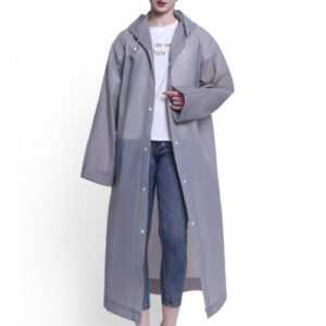 Wholesale Senorita Grey Lilac Rain Jacket