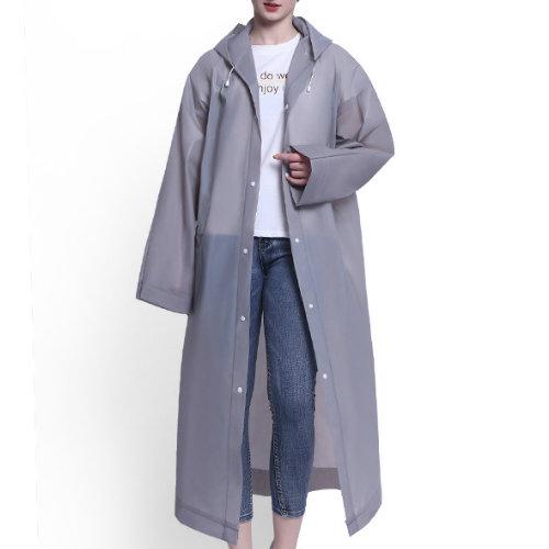 Wholesale Senorita Grey Lilac Rain Jacket