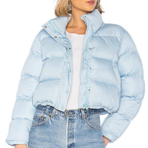 Sky Blue Down Jacket Manufacturer