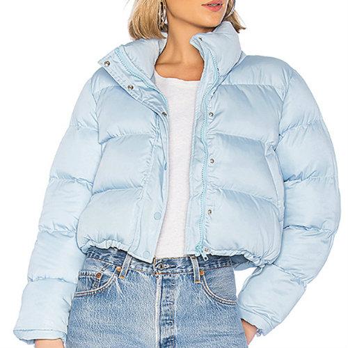 Sky Blue Down Jacket Manufacturer