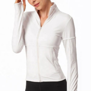 Smart White Fitness Jackets Manufacturer