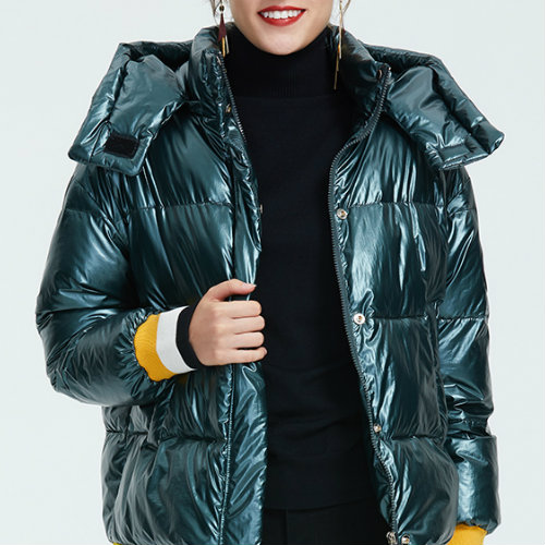 Sporty Green Down Jacket Manufacturer