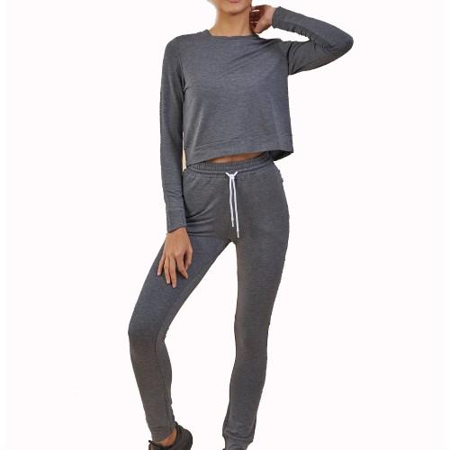 Steel Grey Ladies Custom Tracksuits
