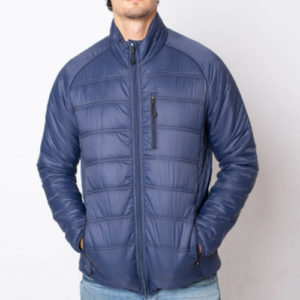 Stylish Blue Down Jacket Manufacturer